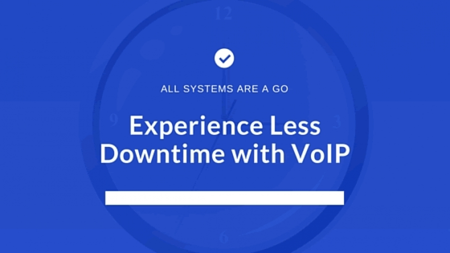 Experience Less Downtime With VoIP